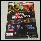 Rock Revolution Video Game Ad/Clipping