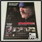Metal Gear Solid 4 Video Game Ad/Clipping