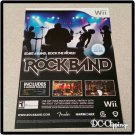 Rock Band Video Game Ad/Clipping