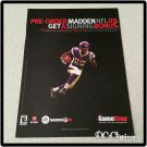 Madden NFL 09 Video Game Ad/Clipping