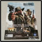 Call Of Juarez Bound In Blood Video Game Ad/Clipping