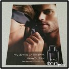 BLACK Unscented Cologne Ad