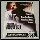 Redemption Ad/Clipping Jamie Foxx