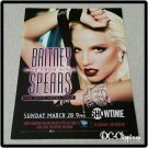 Britney Spears Live In Miami Ad/Clipping