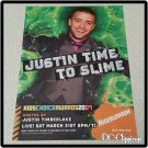 Kids Choice Awards 2007 Ad/Clipping Justin Timberlake
