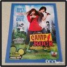 Camp Rock Ad/Clipping Demi Lavato, Joe Jonas
