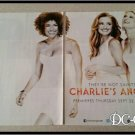 2 Page Charlie's Angels Ad/Clipping