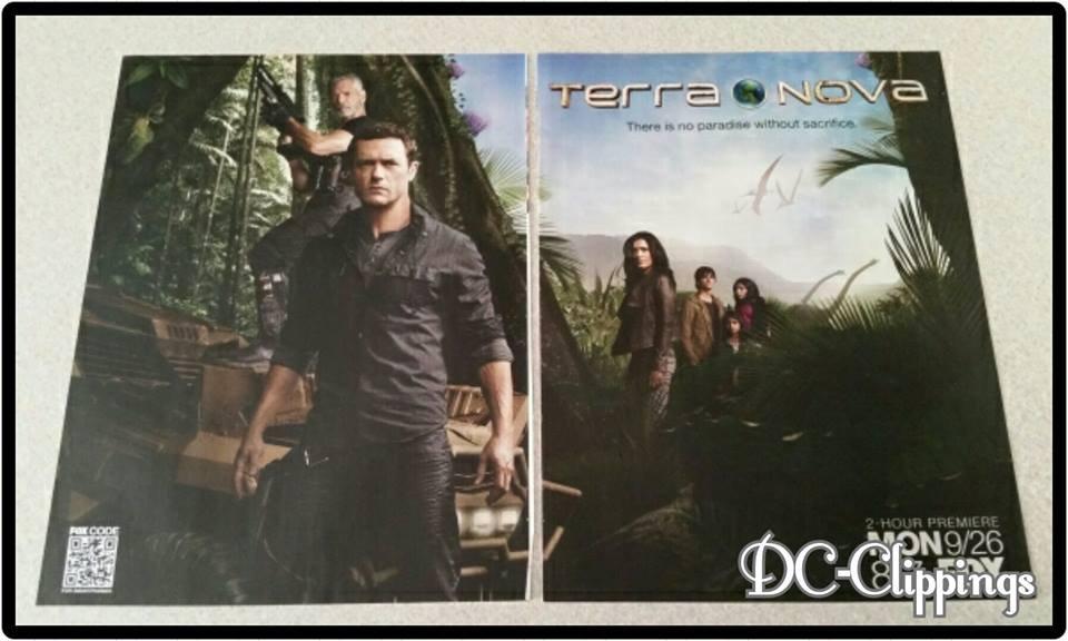 2 Page Terra Nova Ad/Clipping