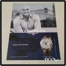 Andre Agassi Longines Watch Ad