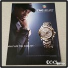 Tiger Woods TAG Heuer Watch Ad
