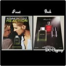 Kennith Cole REACTION Cologne Ad with Scent Strip