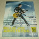 Billie Joe Armstrong Ernie Ball Ad - Green Day