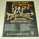 Escape The Fate - Hate Me Tour Ad #2 2015