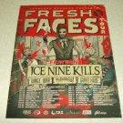 Ice Nine Kills - Fresh Faces Tour Ad