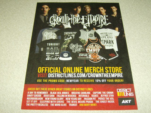 Crown The Empire Clothing Ad