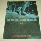 AP Music Awards Ad