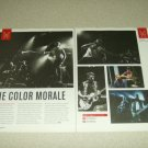 The Color Morale 2 Page Article/Clipping