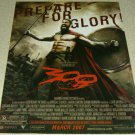 300 Movie Ad - Gerard Butler