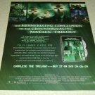 Matrix Revolutions DVD/Movie Ad - Keanu Reeves