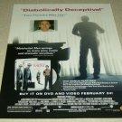 Matchstick Men DVD/Movie Ad - Nicholas Cage