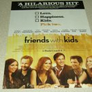 Friends With Kids Movie Ad - Adam Scott, Kristen Wiig, Jon Hamm
