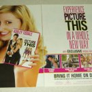 Picture This! 2 Page DVD/Movie Ad - Ashley Tisdale