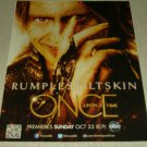 Once Upon A Time TV Show Ad - Rumplestiltskin