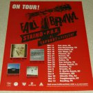 Fall Brawl Tour Ad - Staind, P.O.D., Taproot, Flyleaf