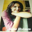 Katie Holmes Pinup & Clipping Set