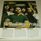 The Devil Wears Prada 1 Page Article/Clipping
