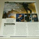 Project Revolution 1 Page Article/Clipping My Chemical Romance Linkin Park