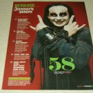 Dani Filth 1 Page Clipping Cradle Of Filth