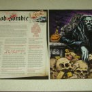 Rob Zombie 2 Page Article/Clipping