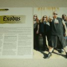 Exodus 2 Page Article/Clipping