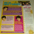 The Jonas Brothers 1 Page Article/Clipping