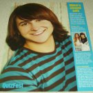 Mitchel Musso 1 Page Article/Clipping #5