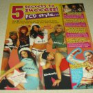 Pussycat Dolls 1 Page Article/Clipping