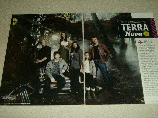 Terra Nova 3 Page Article/Clipping