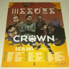 Issues Tour Ad - Crown The Empire