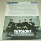 Like Torches 1 Page Article/Clipping