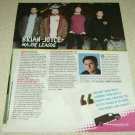 Major League 1 Page Article/Clipping