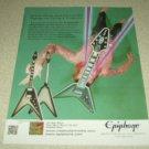 Brent Hinds Epiphone Ad - Mastodon