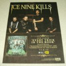 Ice Nine Kills - Every Trick In The Book Album Ad