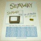 Seaway - Album/Tour Ad