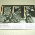 Slipknot 1 Page Article/Clipping - Jay Weinberg - Chris Fehn