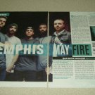 Memphis May Fire 2 Page Article/Clipping #2
