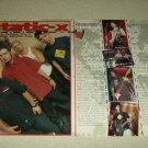 Static-X 2 Page Article/Clipping - Wayne Static