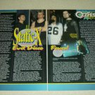 Static-X 3 Page Article/Clipping - Wayne Static