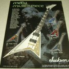 Randy Rhoads Jackson Guitars Ad - Black Sabbath