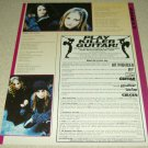 Drain STH 1 Page Serve The Shame Lyrics Article/Clipping